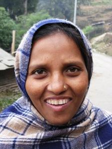 Das Portrait mit dem freundlichem Lächeln hat auch der fotografierten Frau gefallen