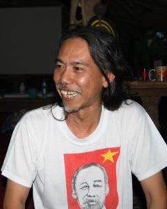 Mekongaktivist Krutee Roigaew aus Chiang Khong