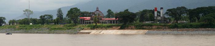 Die Chinesische Mauer am Mekong