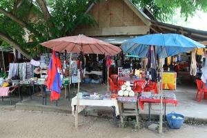 Noch leben die Mekong-Insulaner vom Souvenirverkauf