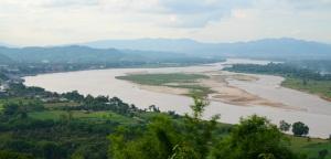 Verletzlicher Riese - der Mekong bei Chiang Saen