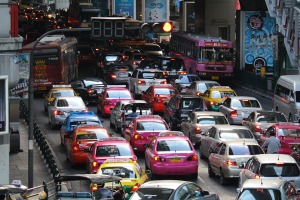 Bangkoks Verkehr - seit Jahrzehnten das gleiche Bild