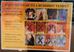 Dress Code im Tiger-Tempel