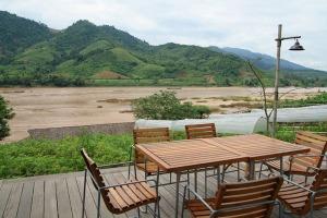 Blick vom Öko-Resort