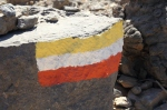 Wegmarkierung im Oman