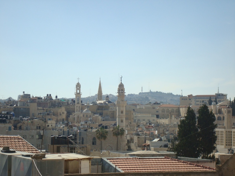 Bethlehem Stadt (Foto: Katrin Karschat)