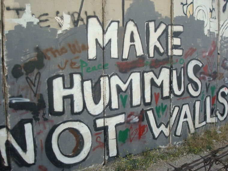 Mauer in Bethlehem (Foto: Katrin Karschat)